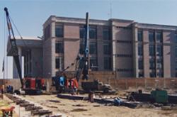 Palacio de justicia consolidado por Tecnosuelo